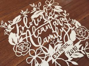 Family papercut