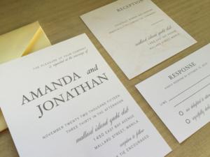 Amanda & Jonathan custom suite